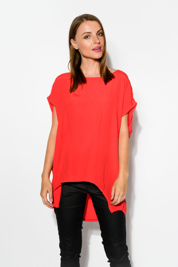 Red Shell Top