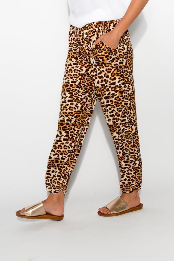 Avery Leopard Pant
