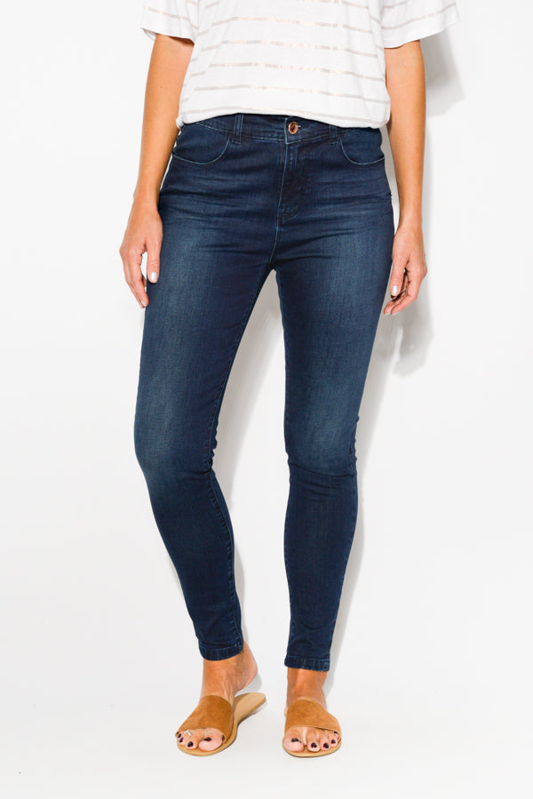 Camden Denim Skinny Jean - Blue Bungalow