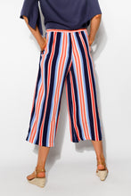 Harbour Multi Stripe Culotte Pant - Blue Bungalow