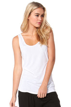 White Miami Tank - Blue Bungalow