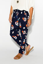 Navy Rainbow Slouch Pant - Blue Bungalow