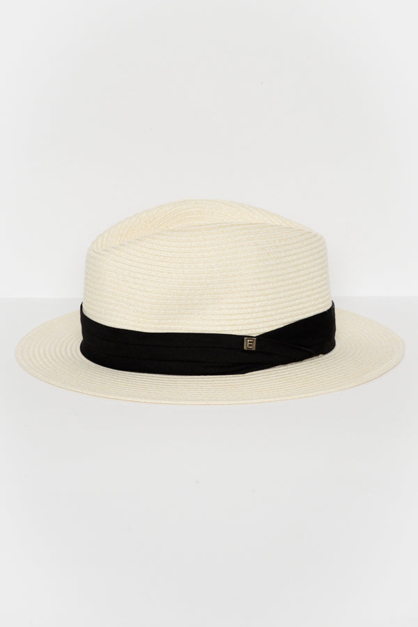 Ivory Travel Pana Hat - Blue Bungalow