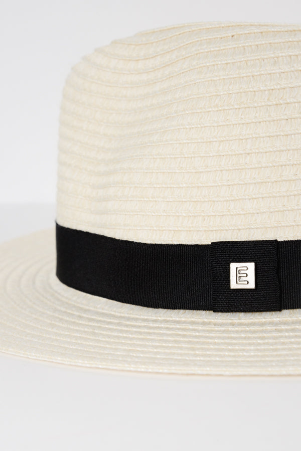 Ivory Travel Fedora - Blue Bungalow