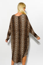Piper Leopard Batwing Dress