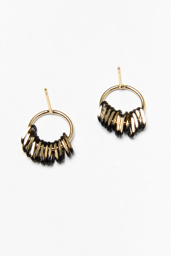 Gold Aries Earrings - Blue Bungalow