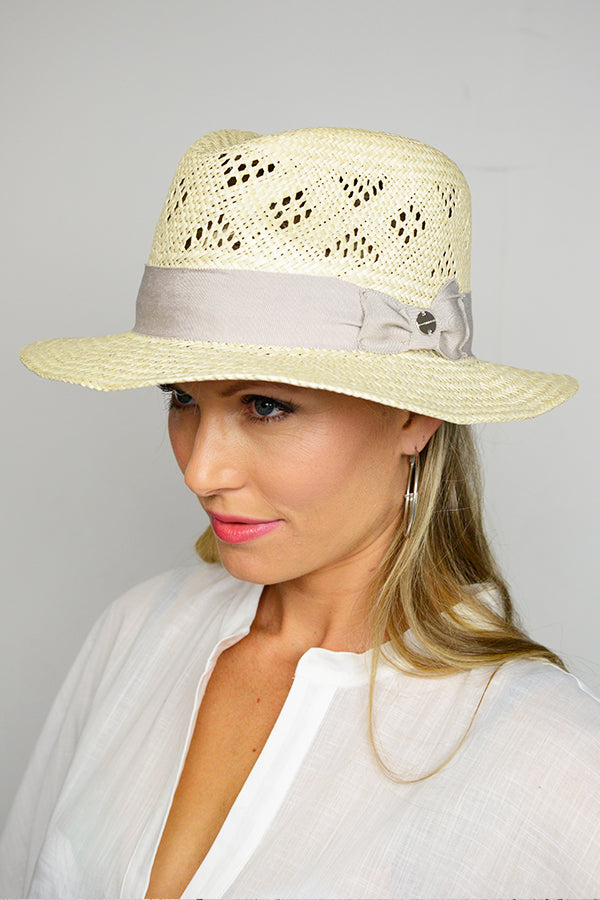 Cream Eva Safari Hat - Blue Bungalow