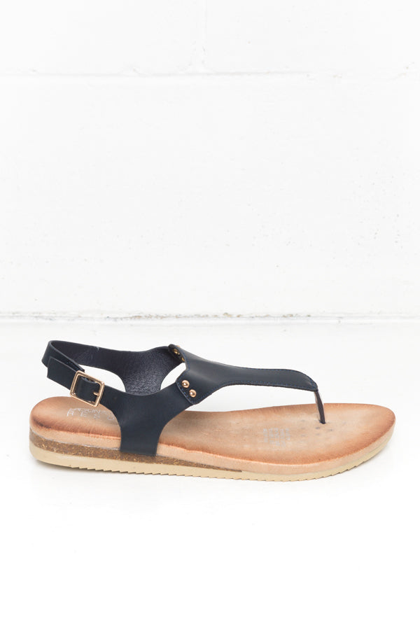 Khanita Indigo Sandals - Blue Bungalow