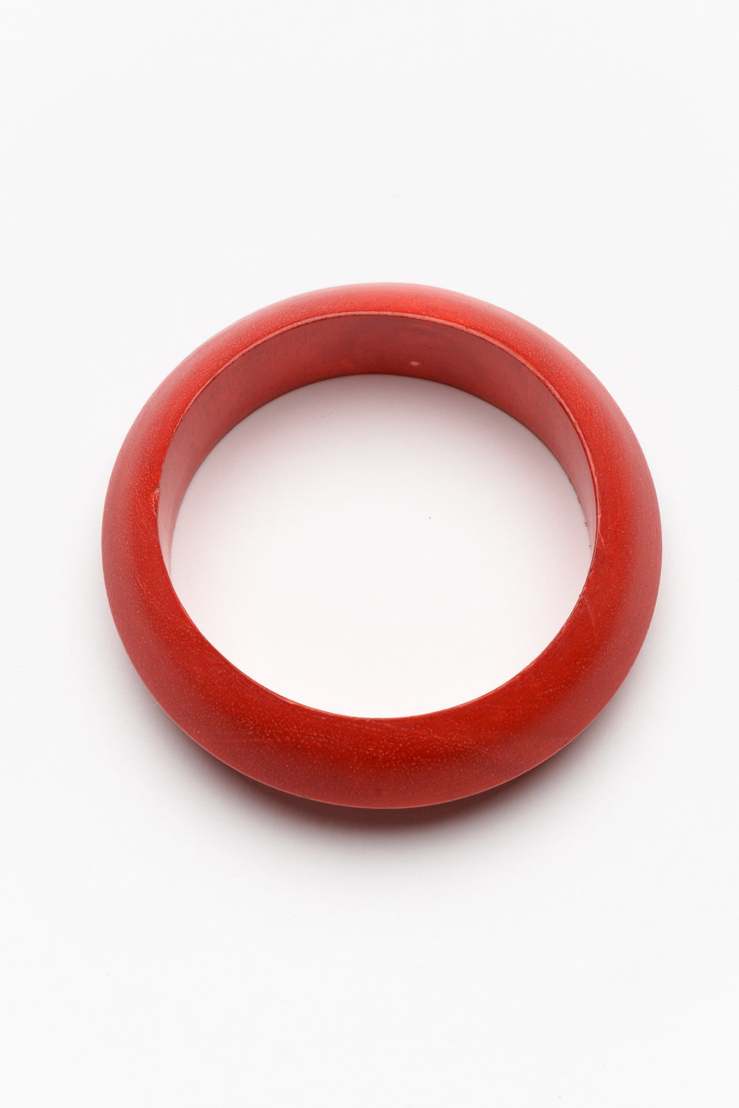 Jessica Red Wood Bangle
