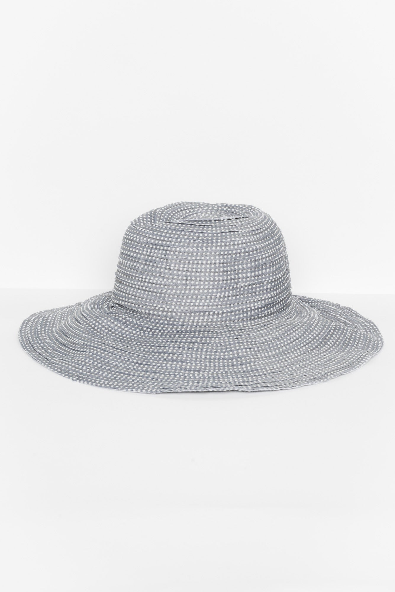Dailly Grey Spotty Hat - Blue Bungalow