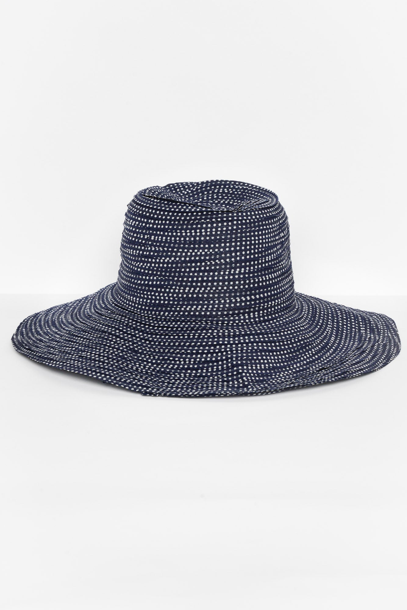 Dially Navy Spotty Hat - Blue Bungalow