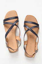 Astral Navy Strappy Leather Sandal
