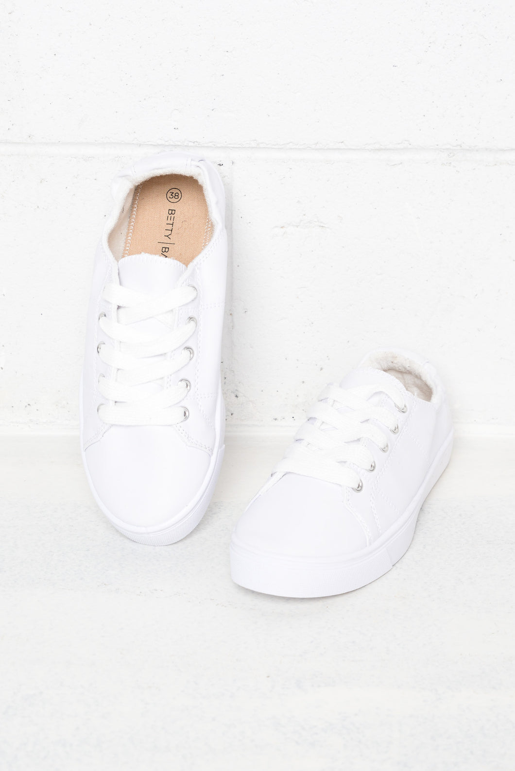Sail White Lace Up Sneaker