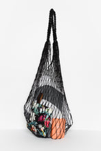 Black Jute String Bag - Blue Bungalow