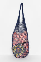 Navy Jute String Bag - Blue Bungalow