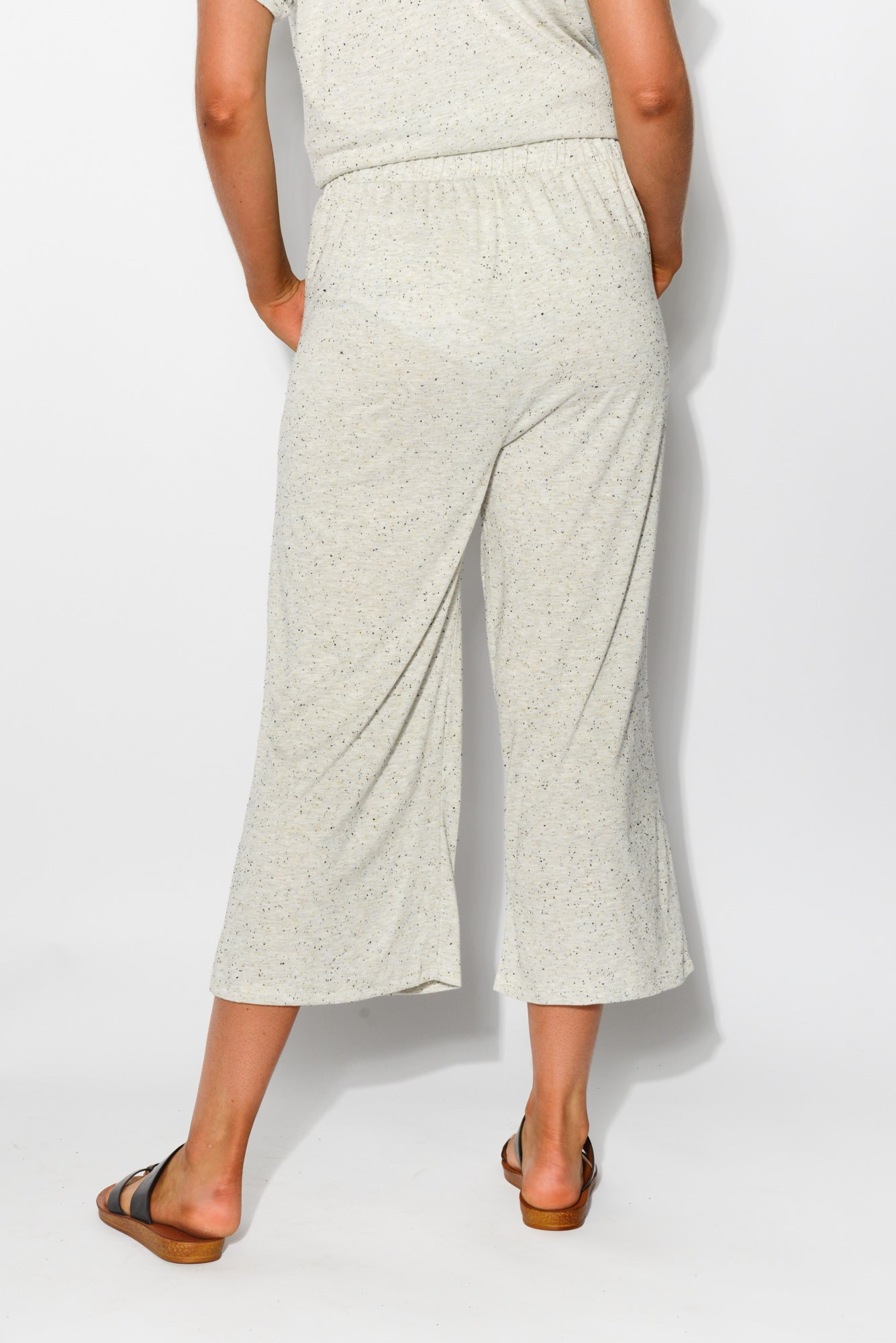 Dublin Grey Cropped Pant
