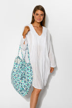 Blue Stars Extra Large Tote - Blue Bungalow
