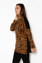 Adriana Brown Leopard Jumper