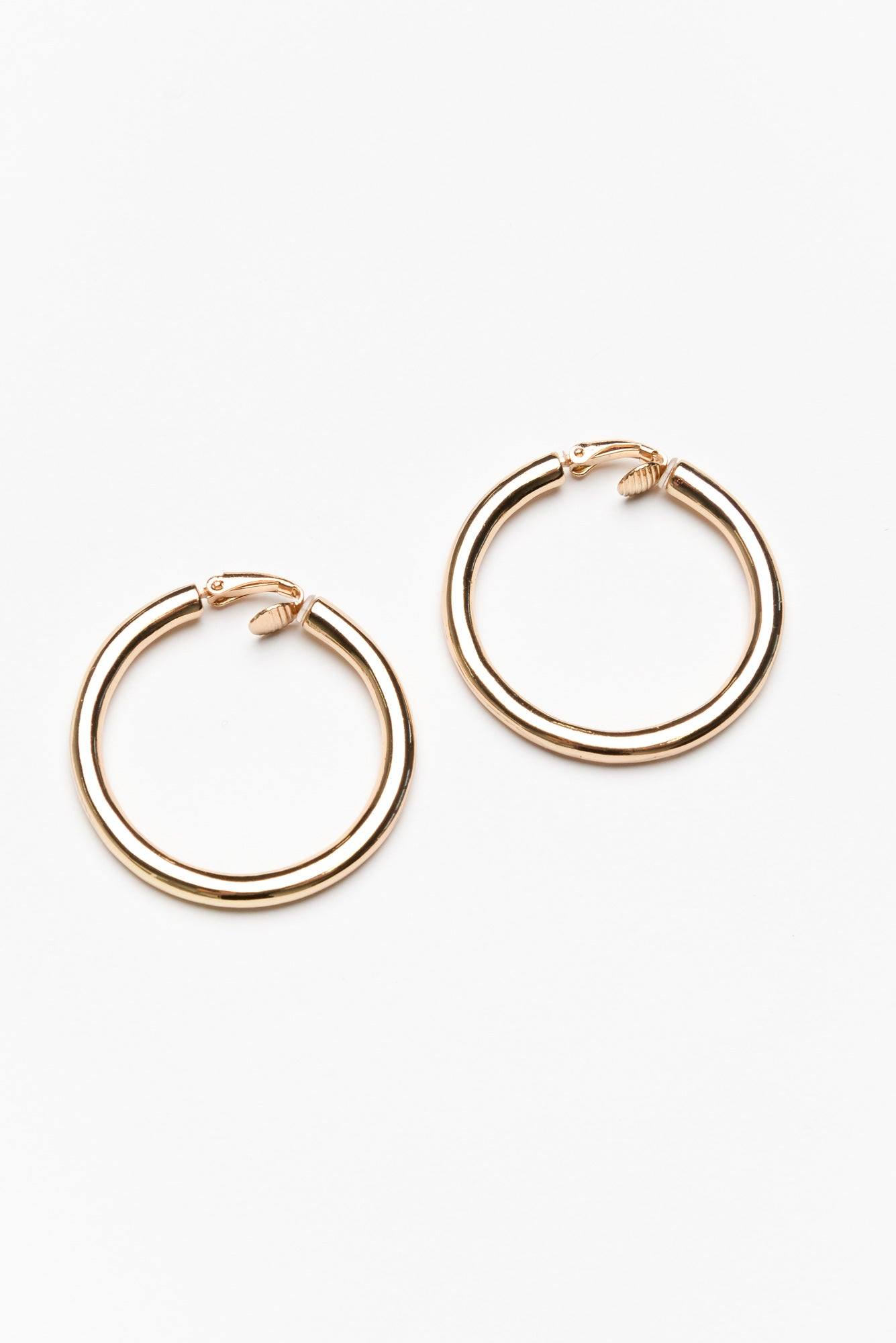 Amalfi Gold Tube Hoop Earring