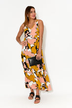 Andy Abstract Sleeveless Dress