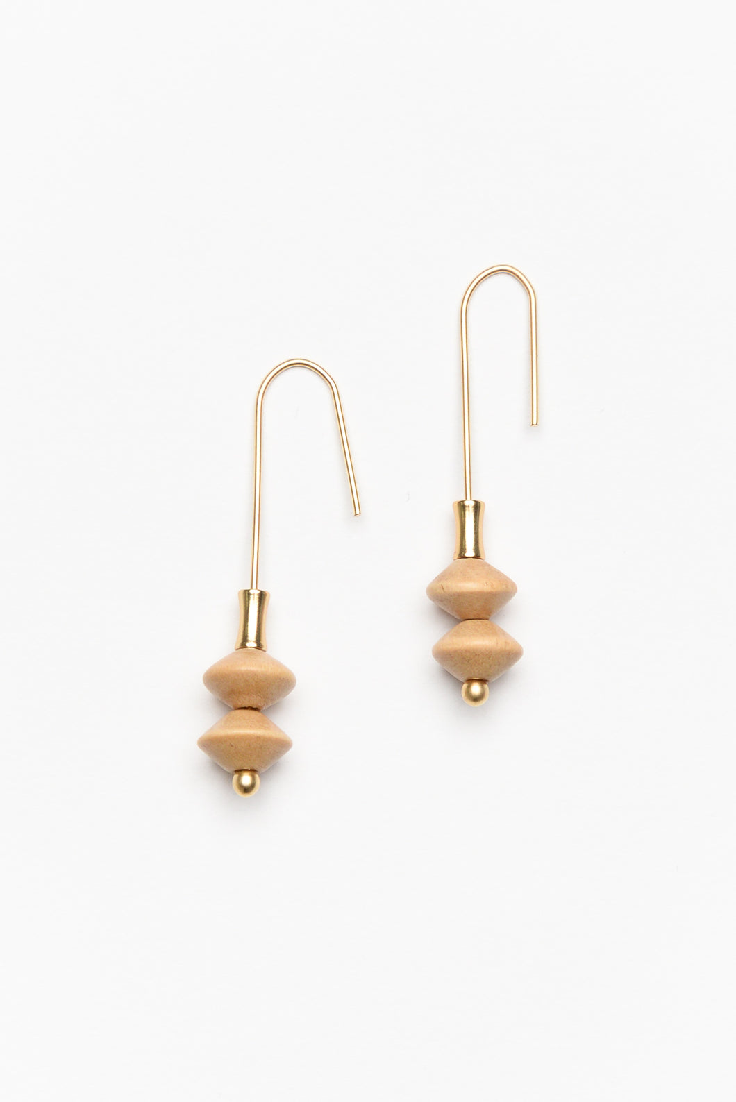 Antequera Gold Hook Earring