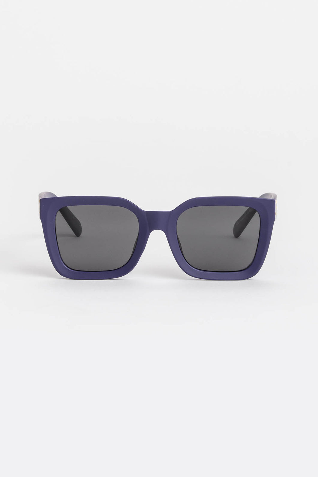 Audrey Navy Square Sunglasses