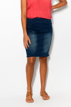 Missy Denim Skirt - Blue Bungalow