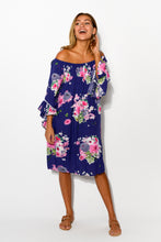 Navy Sakura Amy Dress