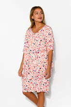 Freya Pink Confetti Batwing Dress - Blue Bungalow