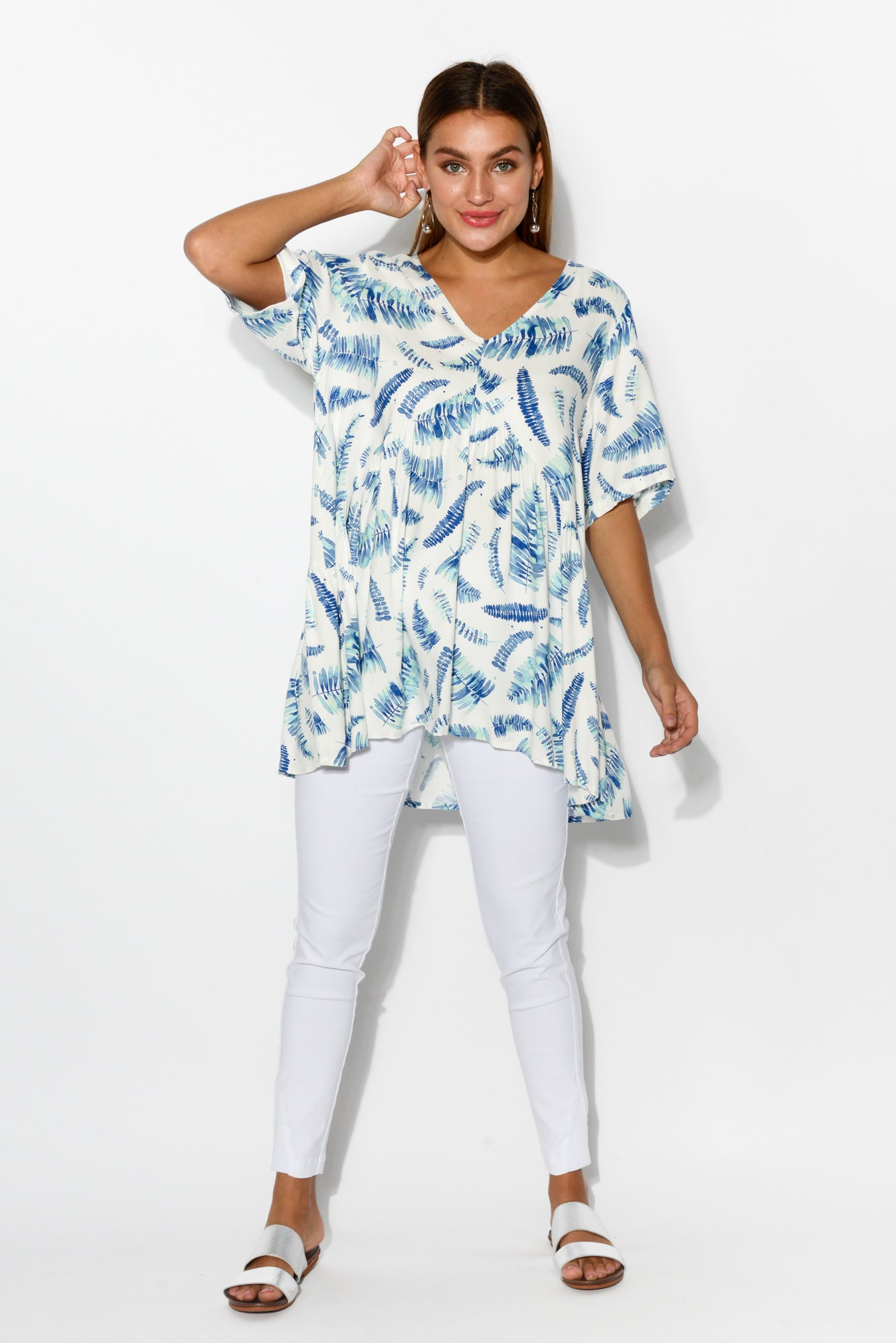 Kayla Garden Peak Top