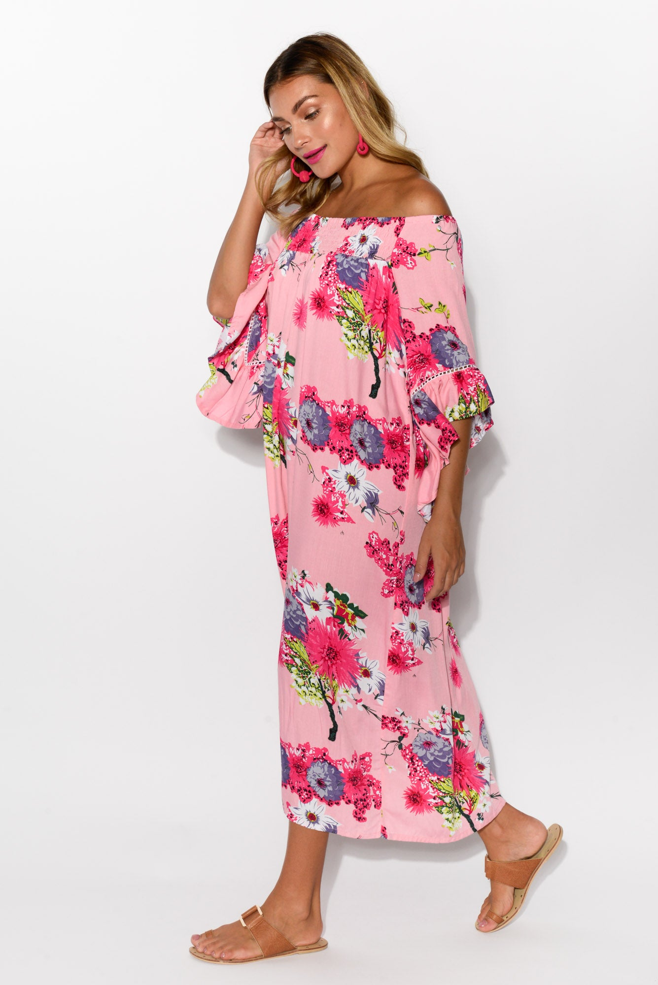 Amanda Blush Sakura Maxi Dress