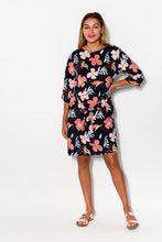 Wallflower Navy Floral Dress - Blue Bungalow
