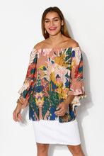 Ronnie Mauve Off Shoulder Top - Blue Bungalow