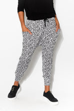 Barcelona Leopard Drop Crotch Pant - Blue Bungalow