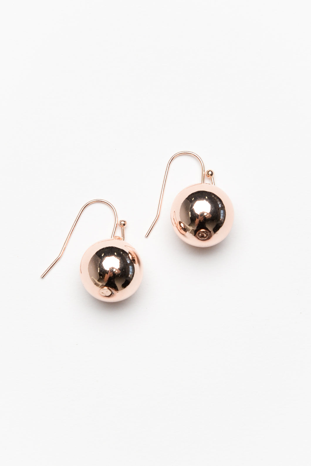 Bethany Rose Gold Ball Drop Earring