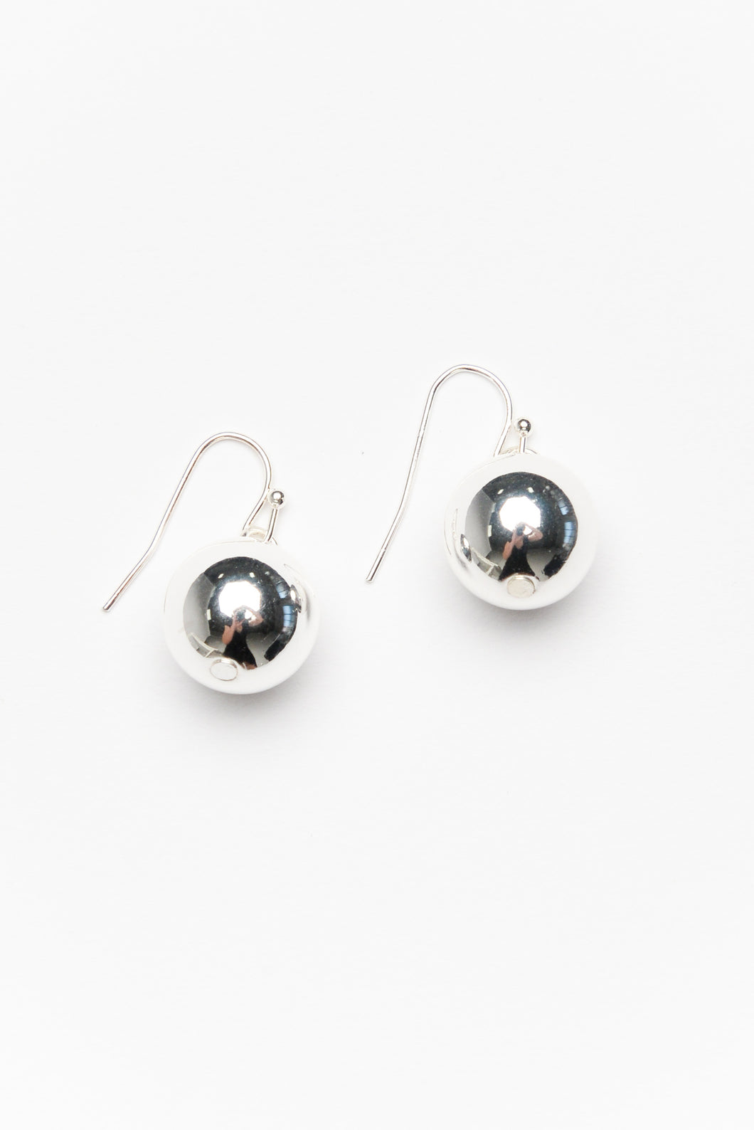Bethany Silver Ball Drop Earring