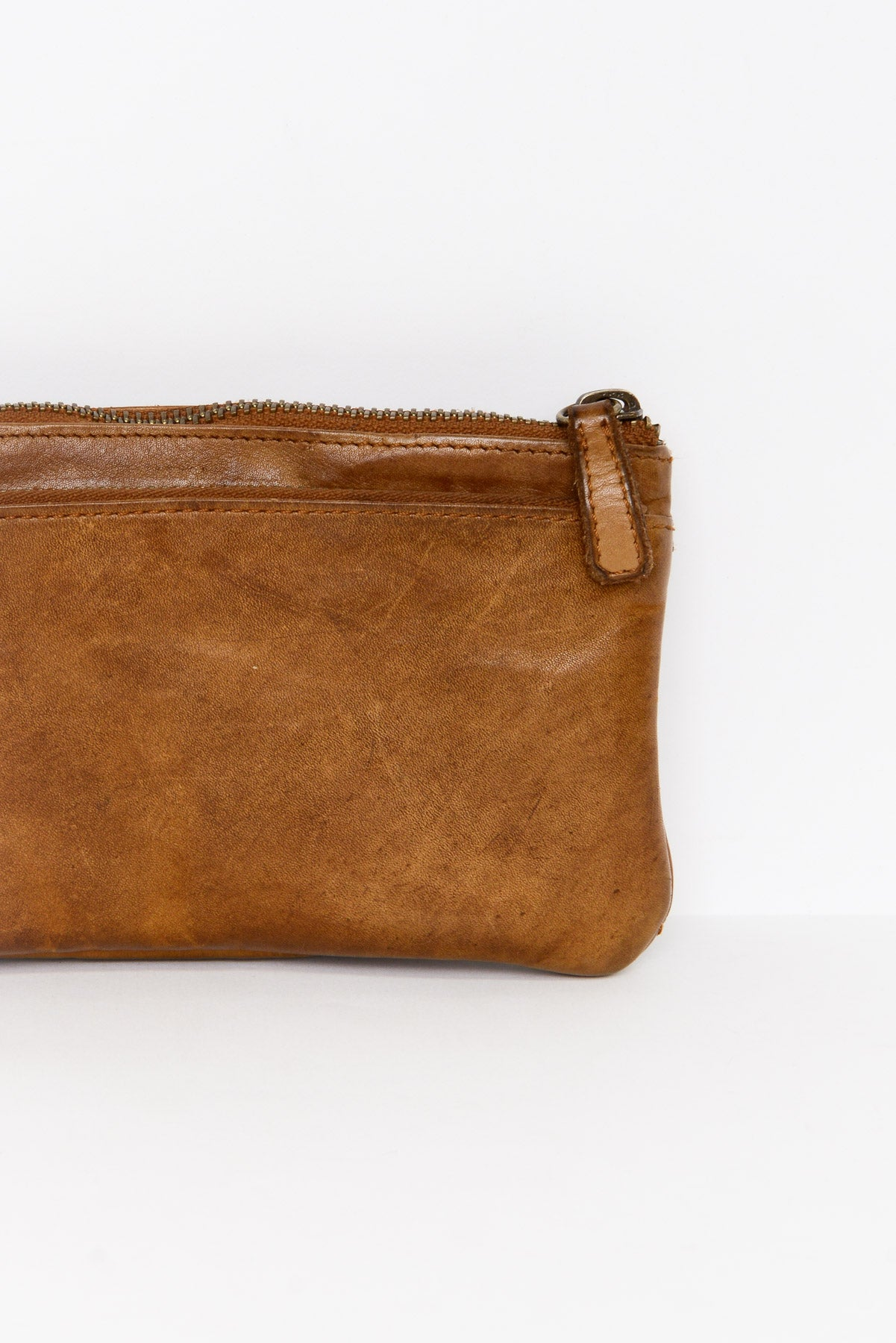 Bonnie Cognac Leather Wallet - Blue Bungalow