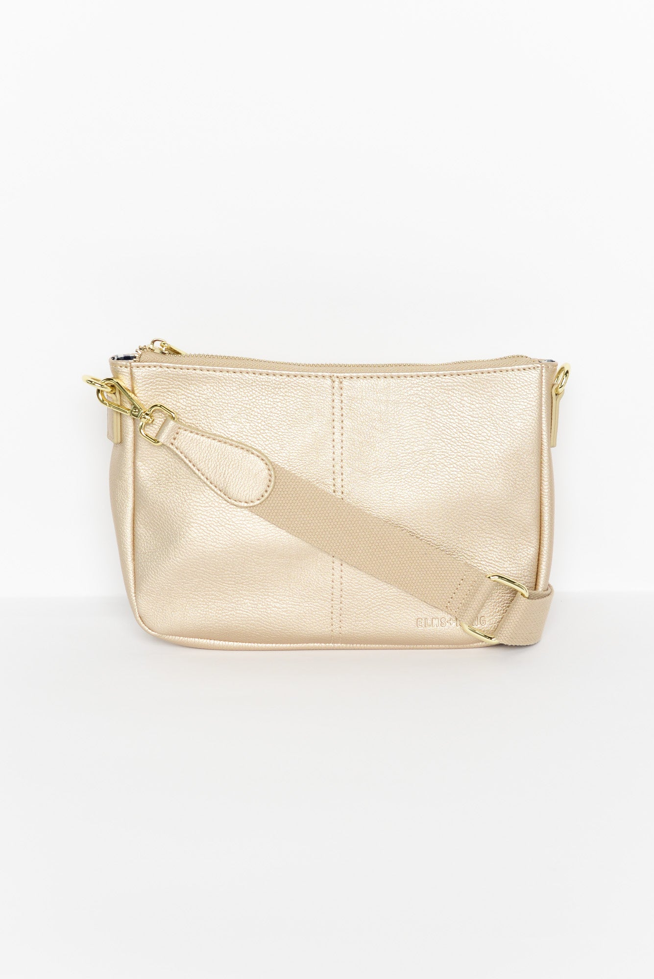 Bowe Gold Shoulder Bag