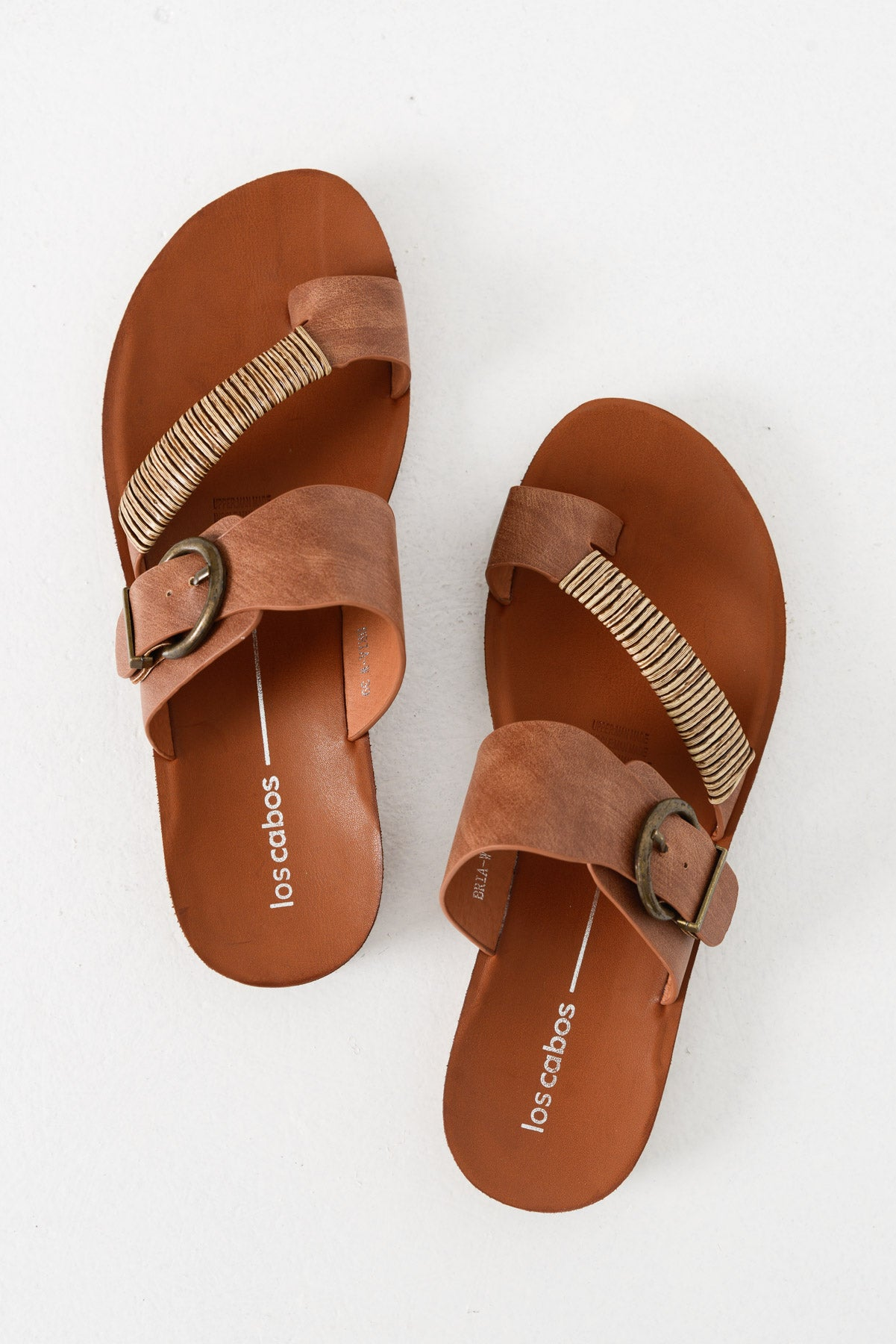 Bria Brandy Sandals - Blue Bungalow