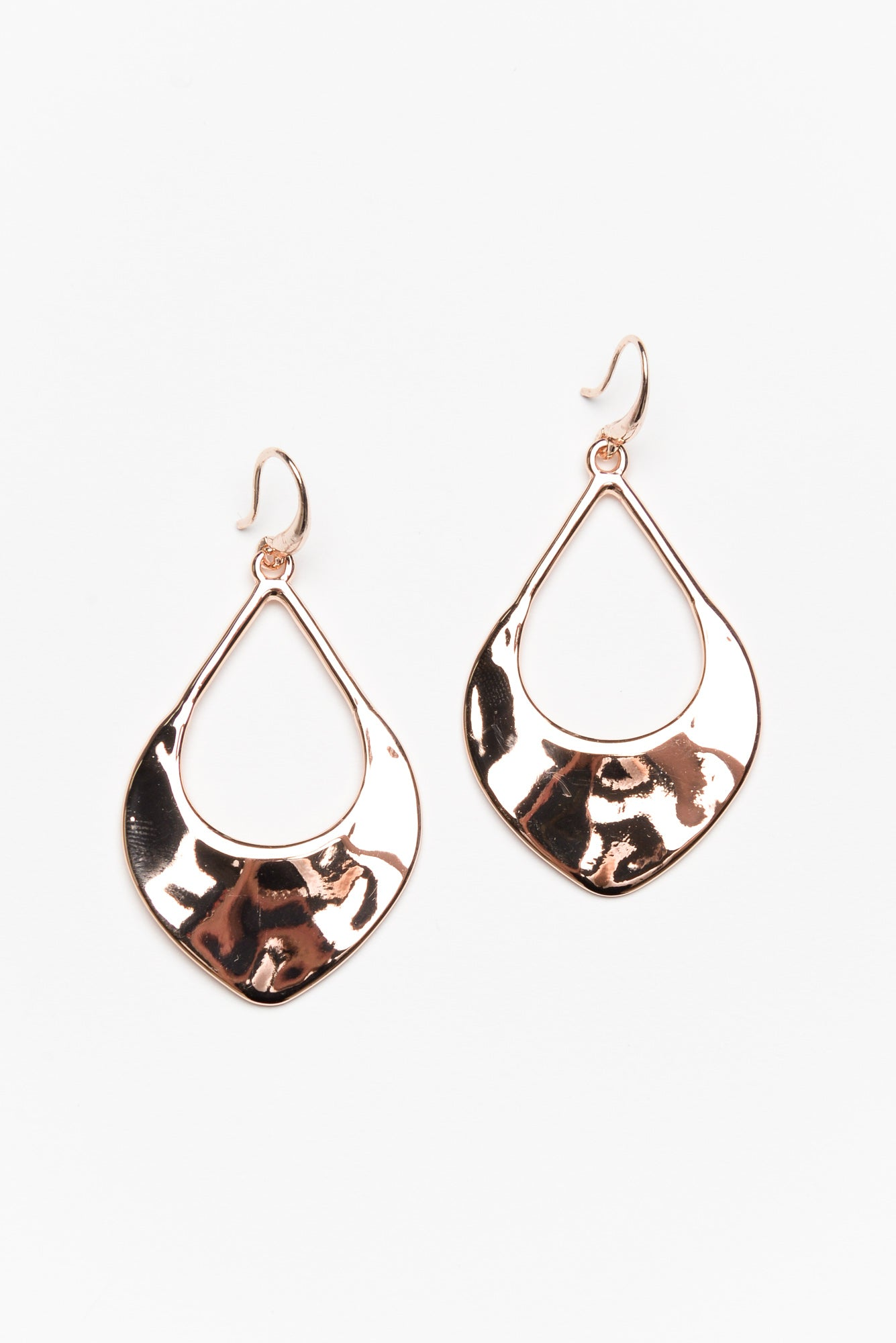 Bryn Rose Gold Teardrop Earring