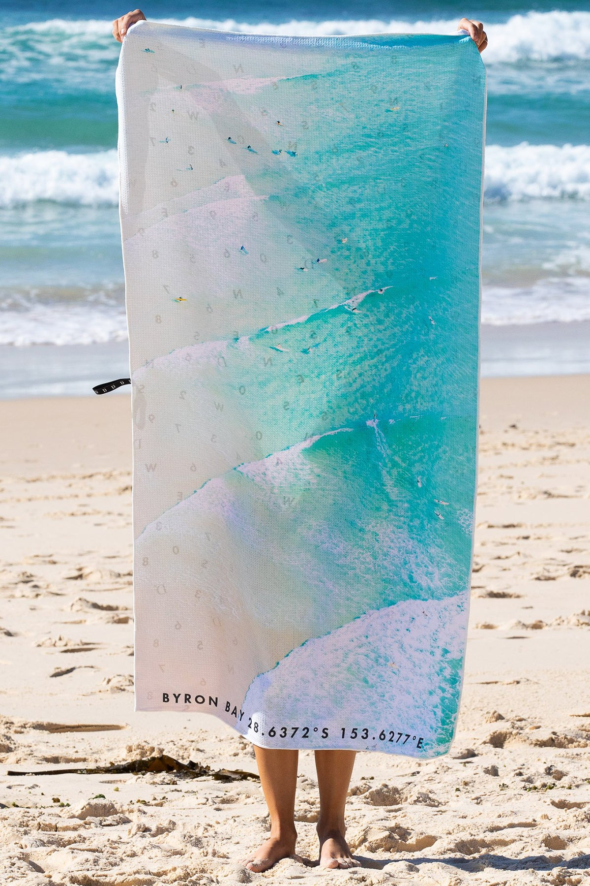 The Byron Lineup Beach Towel travel product recommended by Leanne Thongthip on Lifney.
