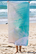 Byron Lineup Sand Free Beach Towel - Blue Bungalow