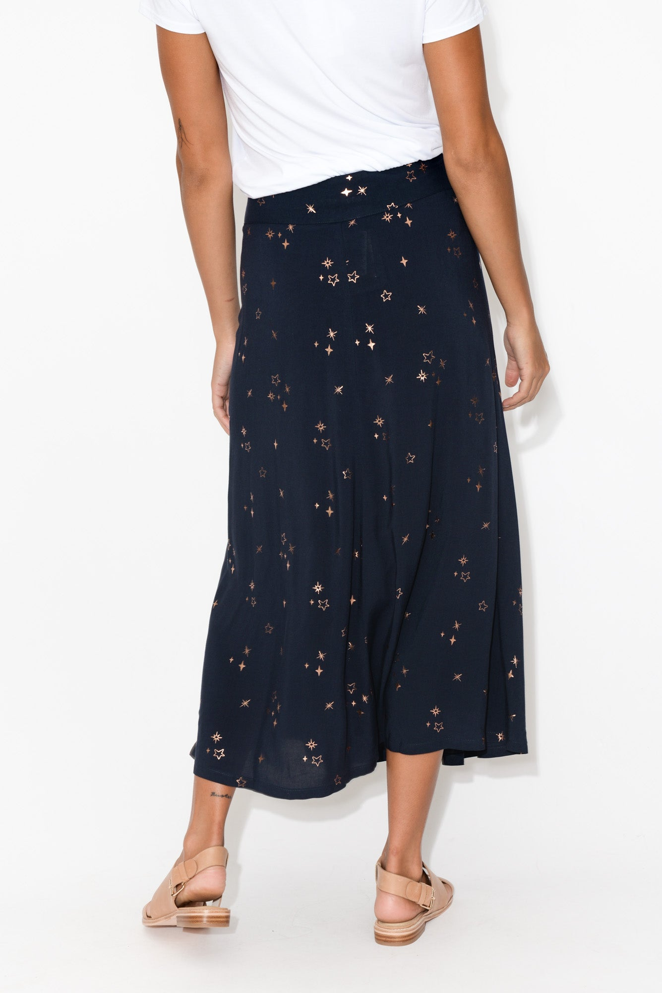 Celestial Navy Star Skirt