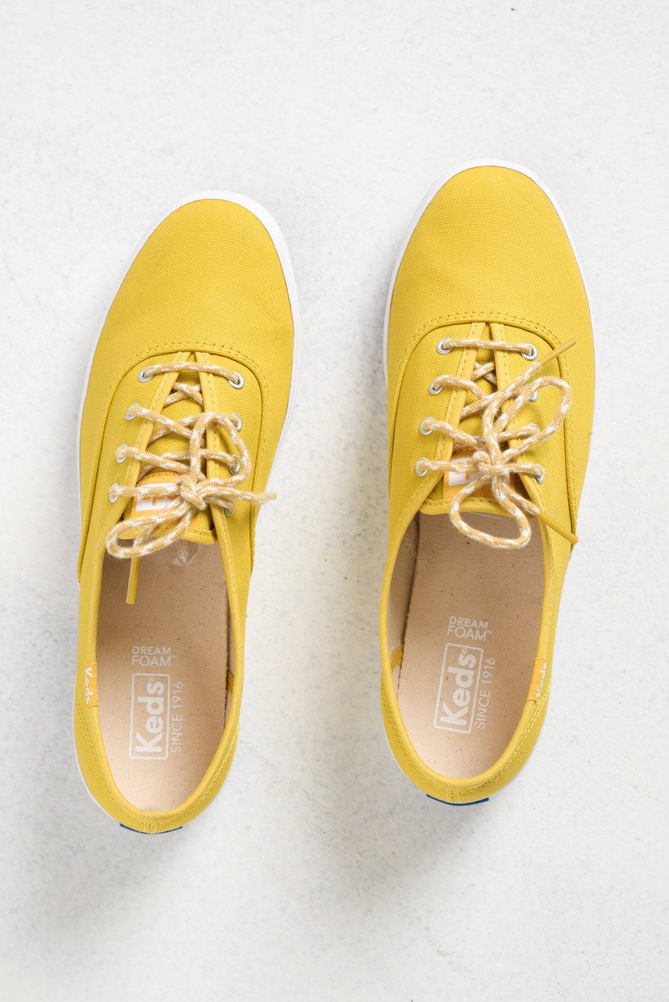 Champion Yellow Organic Cotton Sneaker