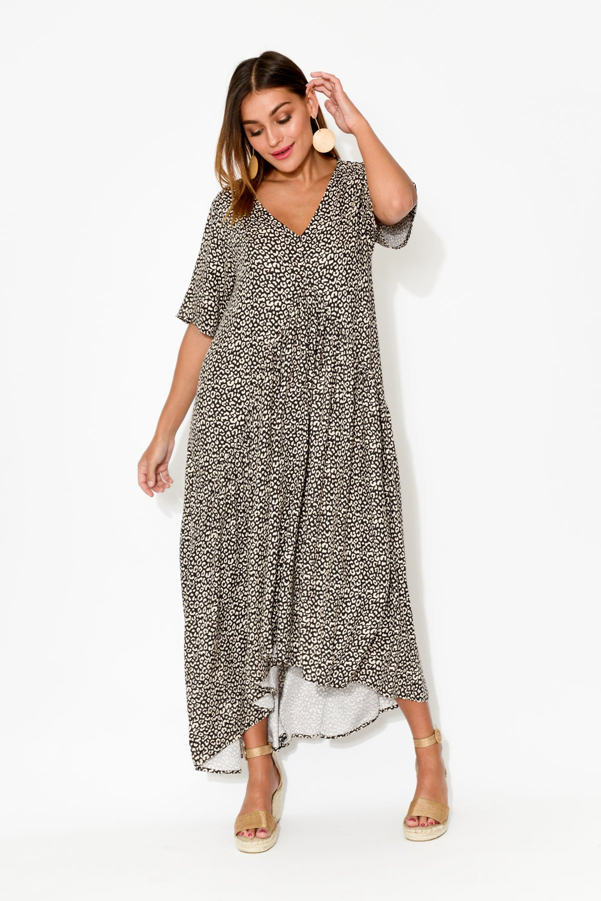 Cheetah Peak Maxi Dress