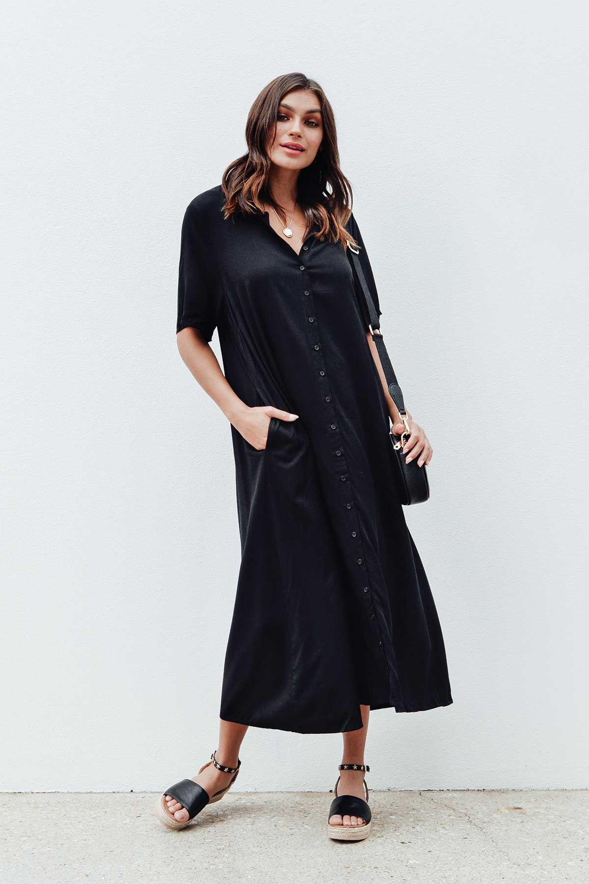 Chloe Black Everyday Maxi Dress