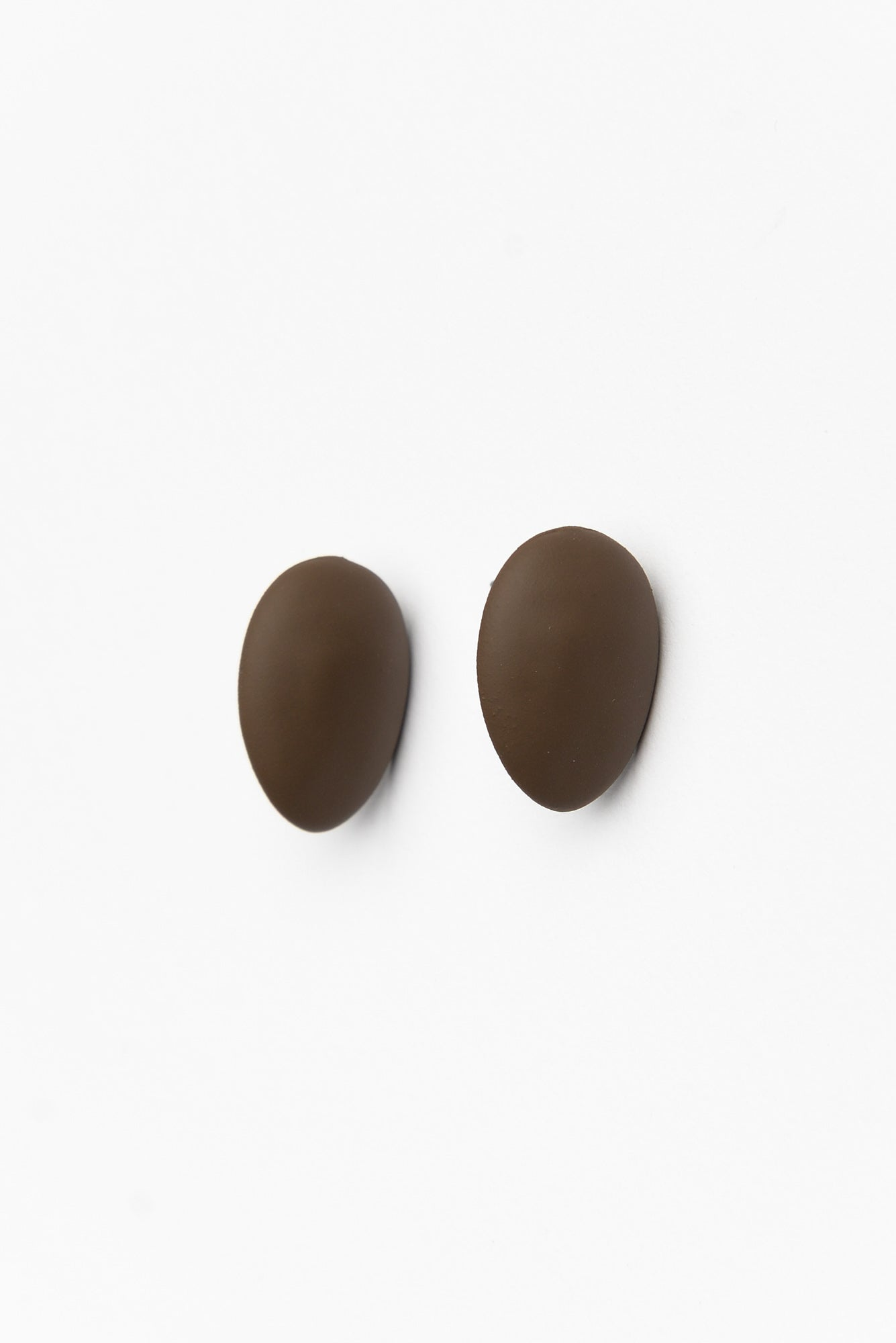 Chocolate Alicia Moulded Studs