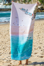 Coogee Boats Sand Free Beach Towel - Blue Bungalow