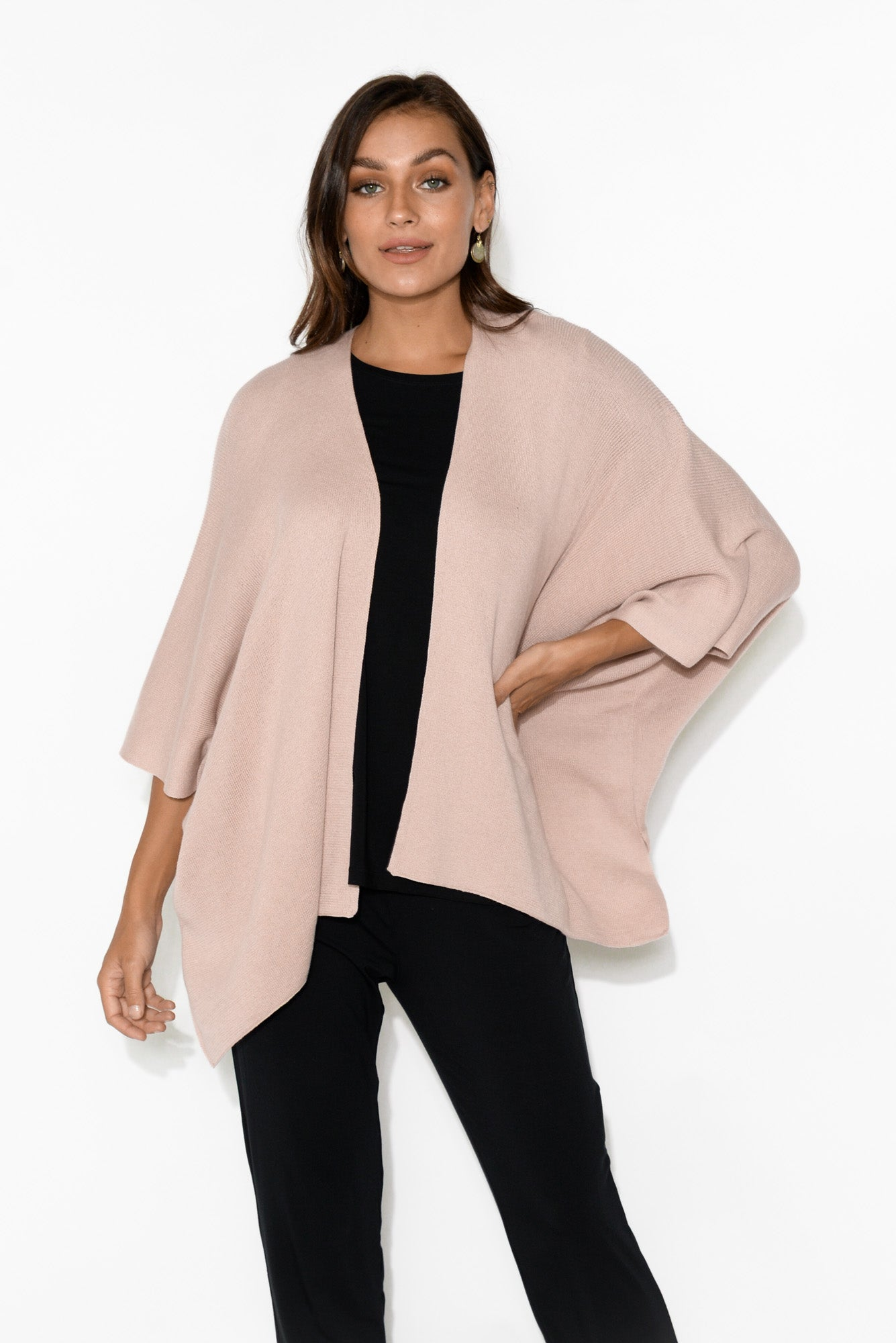 Cady Blush Cotton Cape