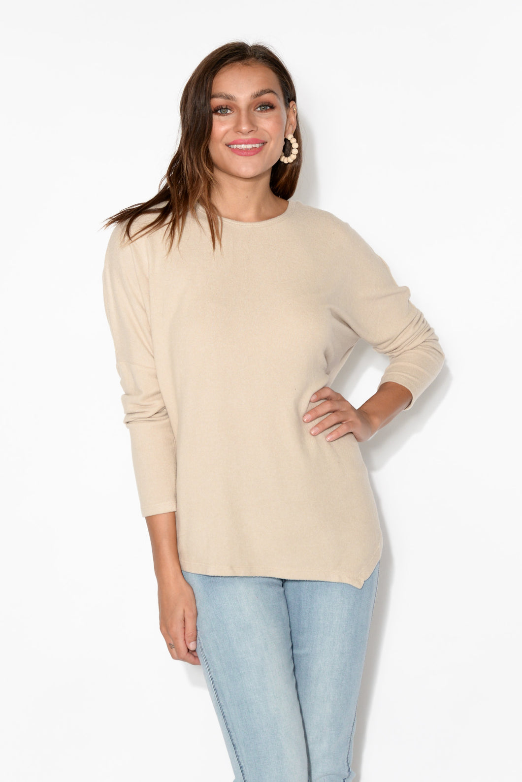 Darcy Oatmeal Top